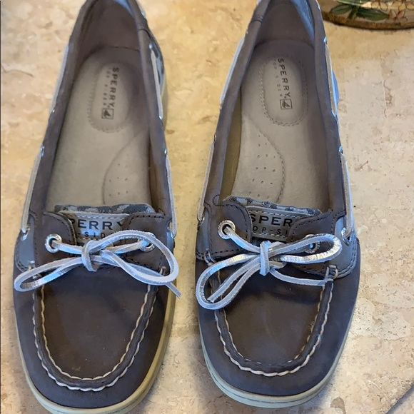 Sperry Shoes - SPERRY TOP-SIDER women's shoe with silver accents